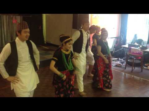 Jhapali Samaaj UK Get-together 2014 Nepal Dance by Helping You.