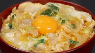 Oyakodon (Chicken and Egg Bowl Recipe) | Cooking with Dog