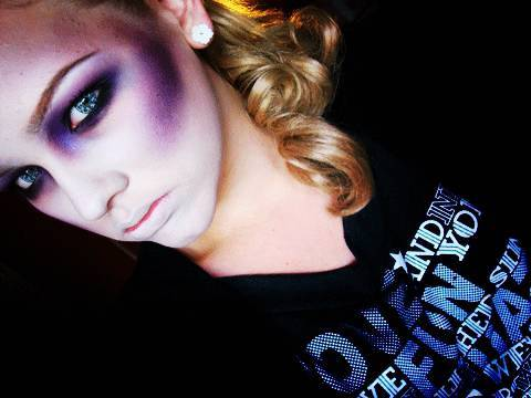 Halloween Tutorial #5 - Zombie/Dead Girl Look. - YouTube