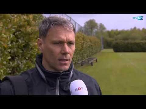 Marco van Basten wordt de trainer van AZ