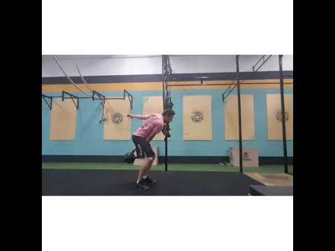 Heavy one arm kettlebell swing 28kg - Crossfit Dadiva