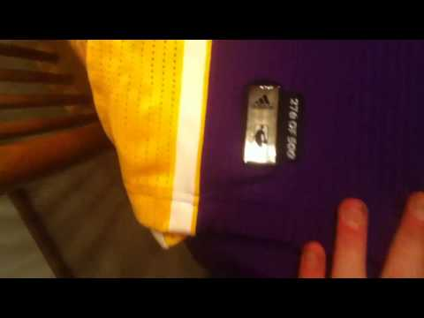 JRS, Jersey #2 of 8: Los Angeles Lakers Rev 30 Kobe Bryant