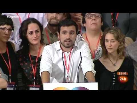 "Entrevista a Alberto Garzón en ""La Noche en 24 Horas"" (06.06.2016)"