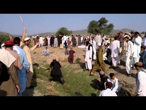 North Waziristan Agency Danday Saidgi villager Clean canals of Water on Dhool