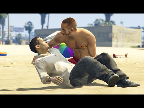 EPIC RESCUE MOD! (GTA 5 Funny Moments)