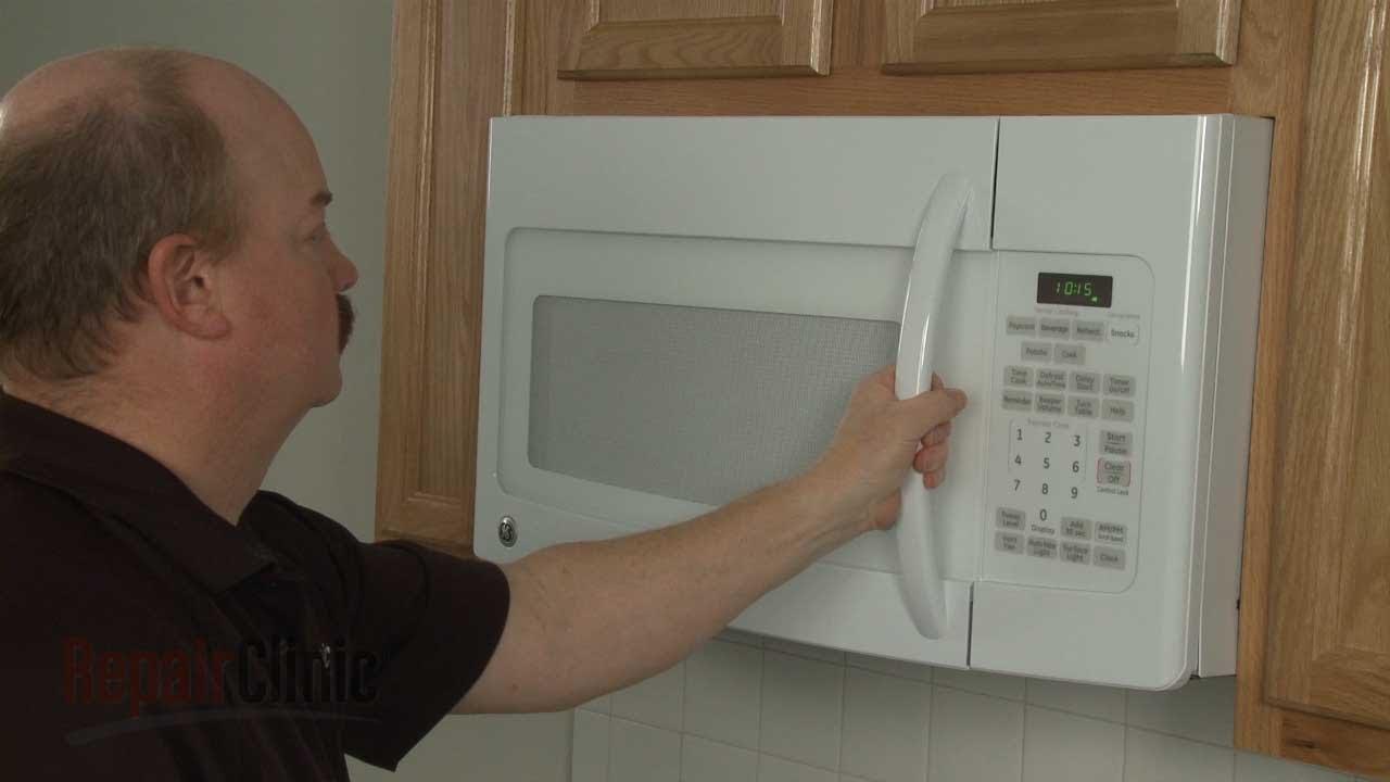Microwave Door Handle Replacement Ge Microwave Repair