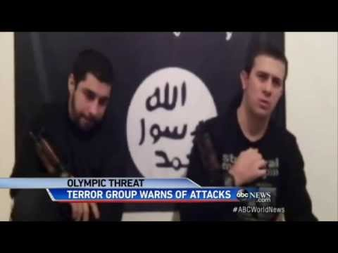 Sochi Olympics : Islamic Terrorists threatens attacks on Tourist at Winter Olympics (Jan 20, 2014)