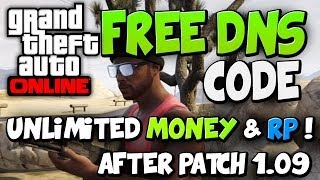 "GTA 5 ONLINE Free Dns Code / Unlimited RP / Money ( ""GTA"