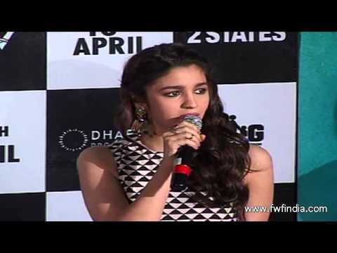 Trailer launch of the film '2 States'