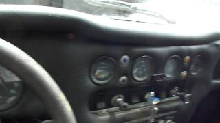 TVR 2500 engine running