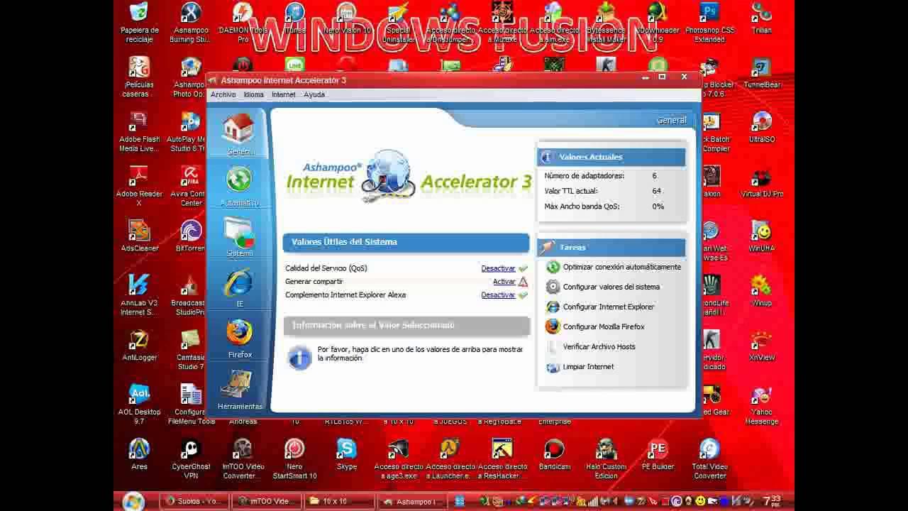 Ashampoo Internet Accelerator 3.20 Full Espanol