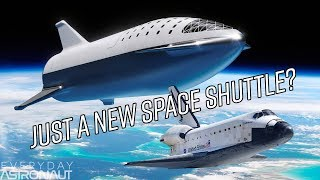 Why SpaceX's BFS will fall like a skydiver and not fly like an airplane