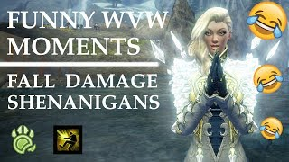 GW2 - [DARK] WVW FUNNY MOMENTS | Timber!!!