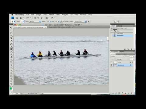 Photoshop CS4: Clone Stamp tool