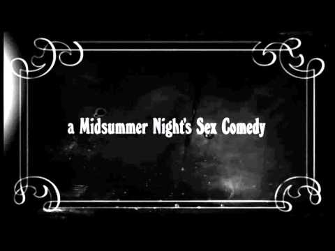 a midsummer's night sex comedy title sequence