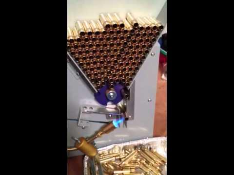 brass annealing machine