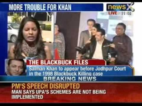 Blackbuck poaching case: Actor Salman Khan has to appear before Jodhpur Court - NewsX