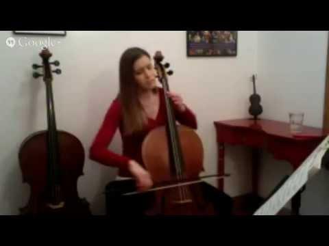 Livestream Baroque Cello Concert