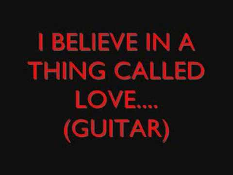 i believe in a thing called love essay Check out i believe in a thing called love by the darkness on amazon music  stream ad-free or purchase cd's and mp3s now on amazoncom.
