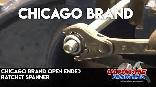 Open ended ratchet spanner | Chicago brand