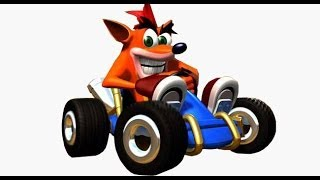 Un nuevo Crash Team Racing cancelado, gameplay filtrado.