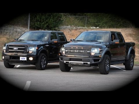 new ford f150 raptor vs fx4 overview comparison review. Black Bedroom Furniture Sets. Home Design Ideas