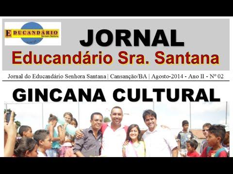Retrospectiva 2014 - Educandário Senhora Santana - Cansanção/BA