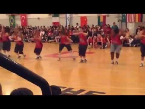 Full Force Dance Crew Chico High School multicultural rally