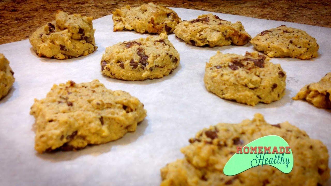 Almond Flour Chocolate Chip Cookies Low Sugar