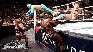 Zack Ryder & Sin Cara Vs. Heath Slater & Titus O'Neil: WWE