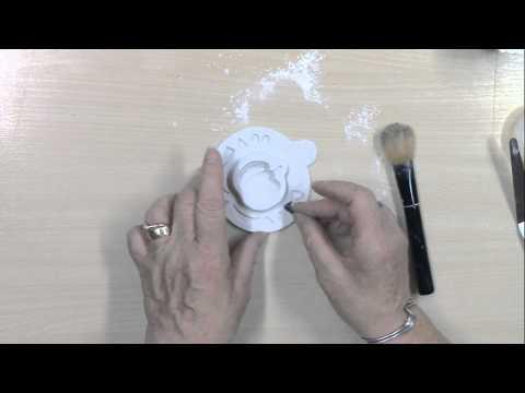 Katy Sue Pumpkin Face design mat silicone sugarcraft mould