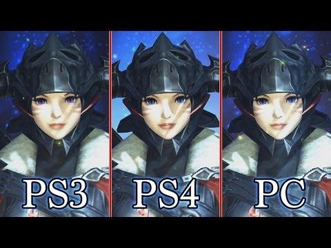 Final Fantasy 14: Comparação Gráfica.: PC vs PS4 vs PS3