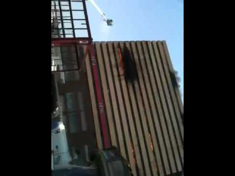 Fire break out in Surat textile market gujarat part 1