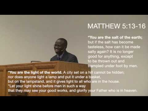 Moses Onwubiko - 04/26/15 - Austin Bible Church