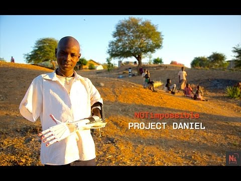 Project Daniel - Not Impossible's 3D Printing Arms for Children of War-Torn Sudan