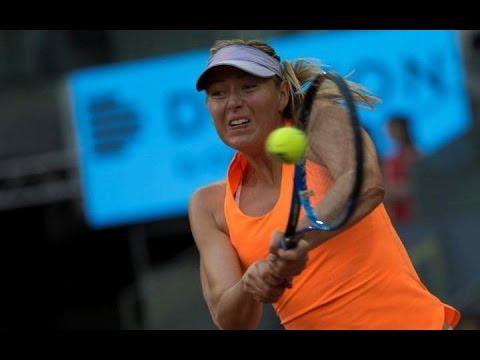 Maria Sharapova vs Eugenie Bouchard, Madrid Open live score updates