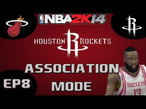 NBA 2K14 Association Mode: Houston Rockets Season Challenge - The Defending Champ [Y1G60 EP8]