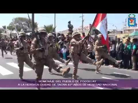 Desfile 87� Aniversario de la reincorporacion de Tacna la Heredad Nacional