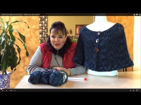 Capita de dos agujas con una Trenza - Tejiendo con Laura Cepeda