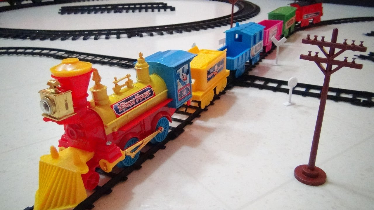 Train set toys youtube reviews
