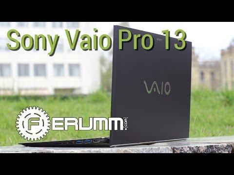 Sony Vaio Pro 13 видеообзор. Подробный обзор ультрабука Sony Vaio Pro 13 от FERUMM.COM