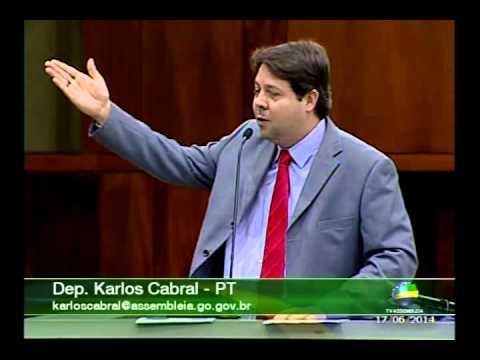 Deputado Estadual Karlos Cabral defende servidores públicos
