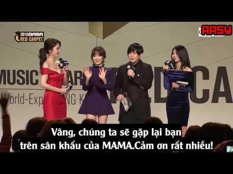 161202 [Vietsub] Taeyeon MAMA 2016 Red Carpet