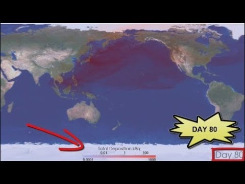 New Fukushima Fallout Model: USA & Canada COVERED in Nuclear Fallout 6/20/14