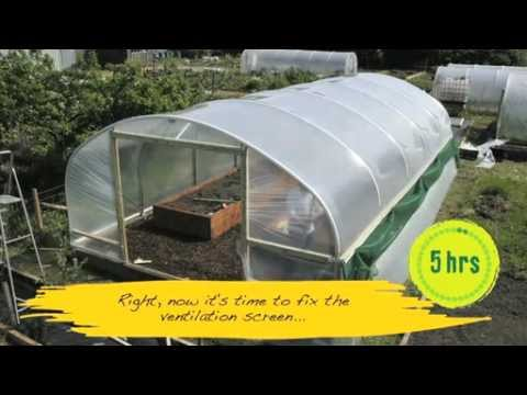 How easy is a Polytunnel to construct?