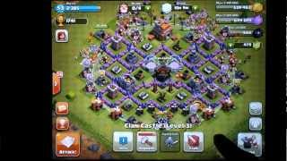 Clash of Clans Town Hall Level 7 Farming Defense - Changes - YouTube
