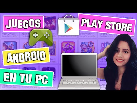 ✔JUEGOS ANDROID EN TU PC || TODA LA (PLAY STORE) EN TU WINDOWS 10 \ 8 \ 7 || 2016