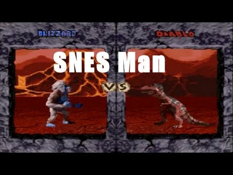 Primal Rage SNES Man Review