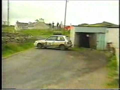 Donegal International Rally 1991 - McClatchey's Shed