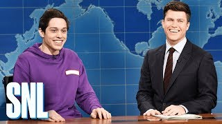 Weekend Update: Pete Davidson on Staten Island - SNL